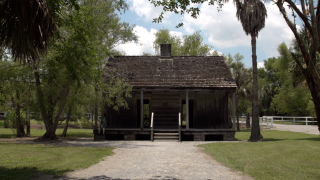 Even after emancipation, not everyone who was free could afford to leave and seek out a new place to live. While slavery was outlawed, people continued working the land and living in the former slave cabins at the Whitney until the 1970s.
