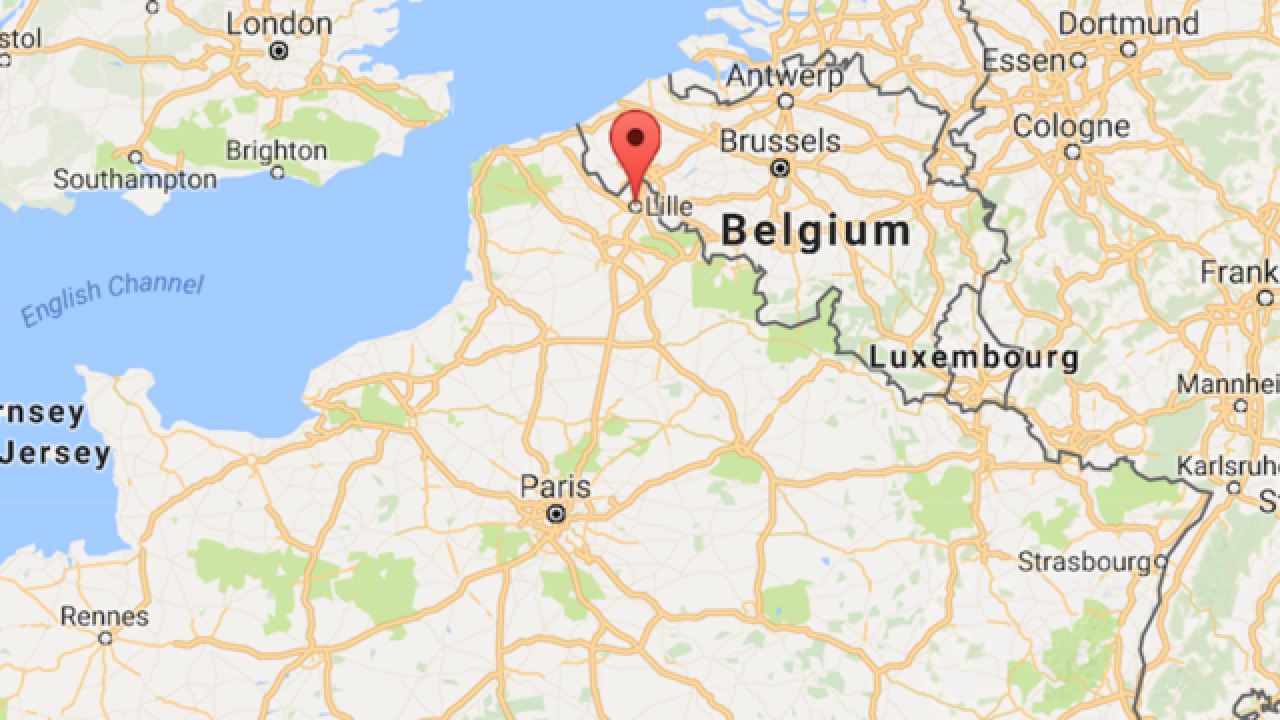 Lille Map Of France.At Least Three Injured In Lille France Mass Shooting