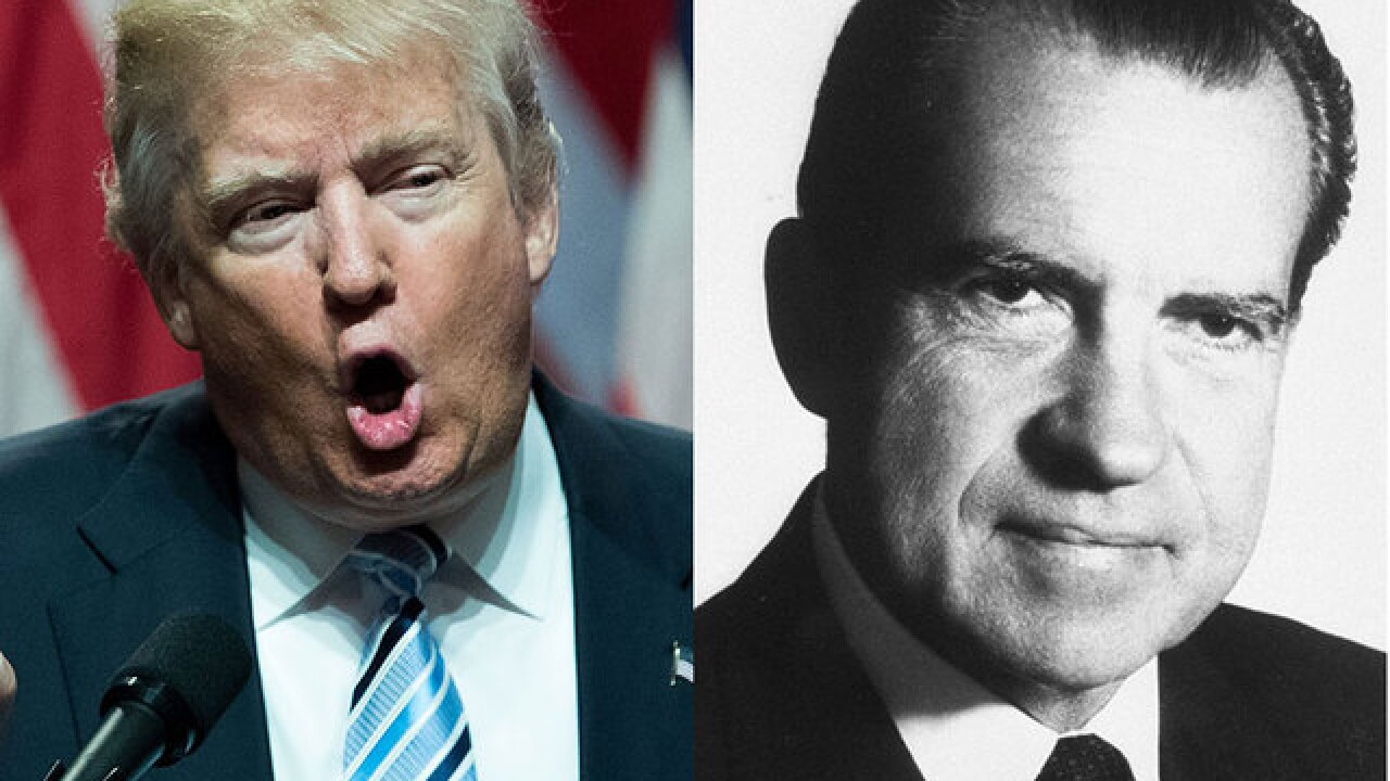 Dick Trump, or is it Donald Nixon