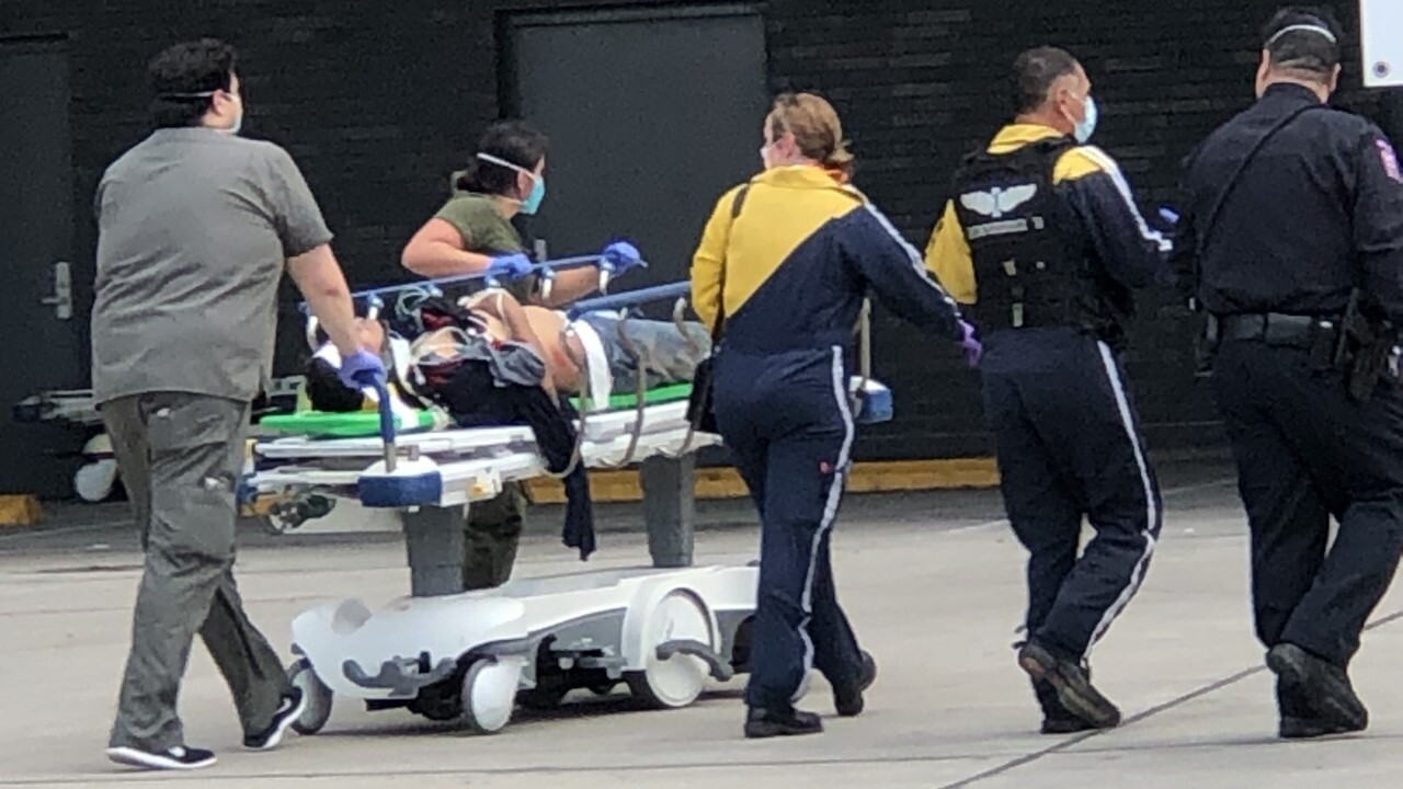 Injured from the crash near Encino were brought to Spohn Shoreline Hospital for treatment