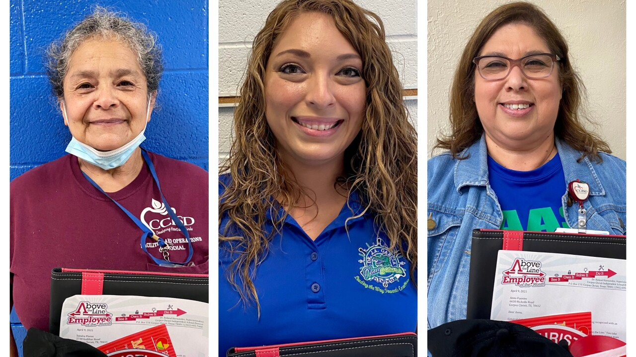 CCISD honors employees of the month
