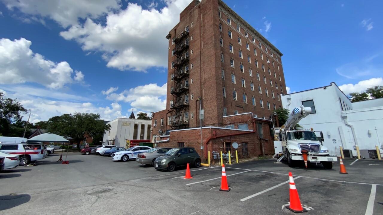 Suffolk Tower Apartments water leak (June 30).jpg
