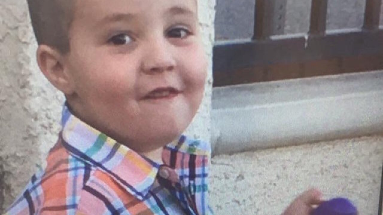 Dad of missing 5-year-old suspected of murder