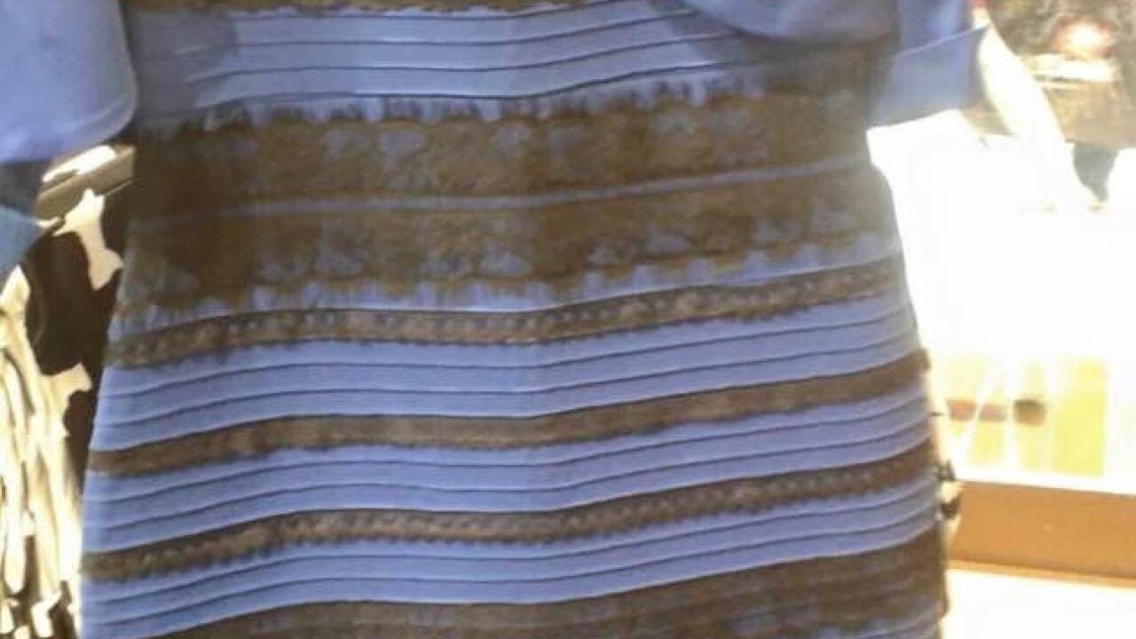 What color is this dress? Viral photo stirs intense Internet debate