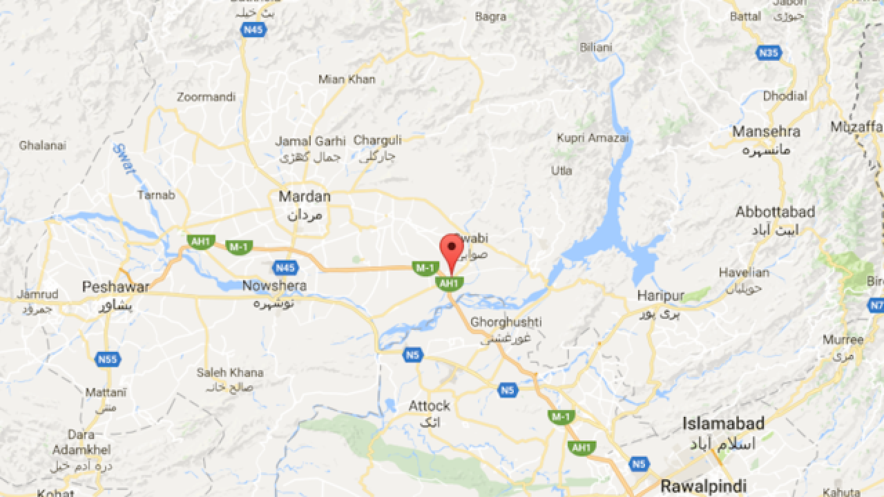 Suicide bomb hits mosque in northwest Pakistan