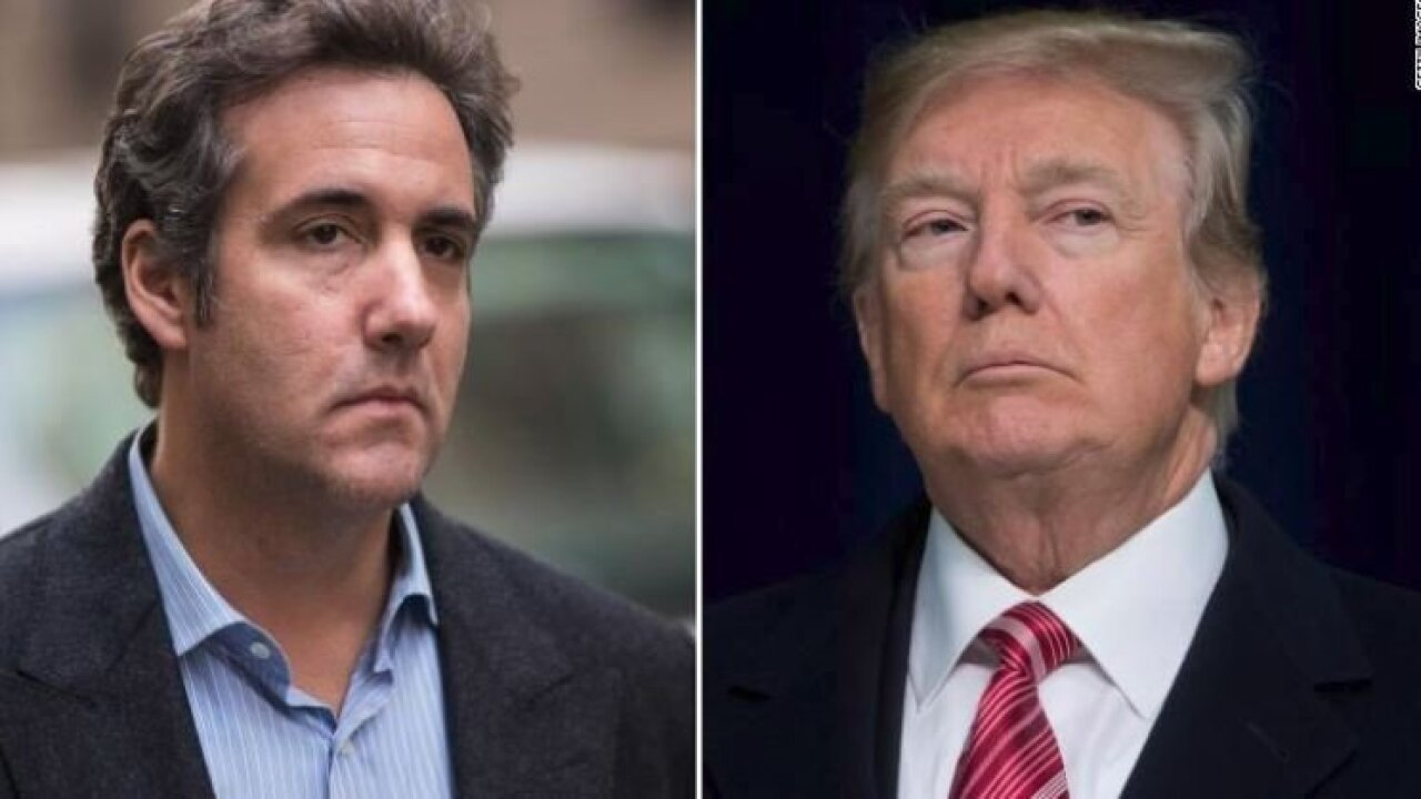Trump disputes Cohen claim he knew of Trump Tower meeting