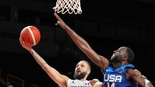 France races past U.S. men's basketball in opener