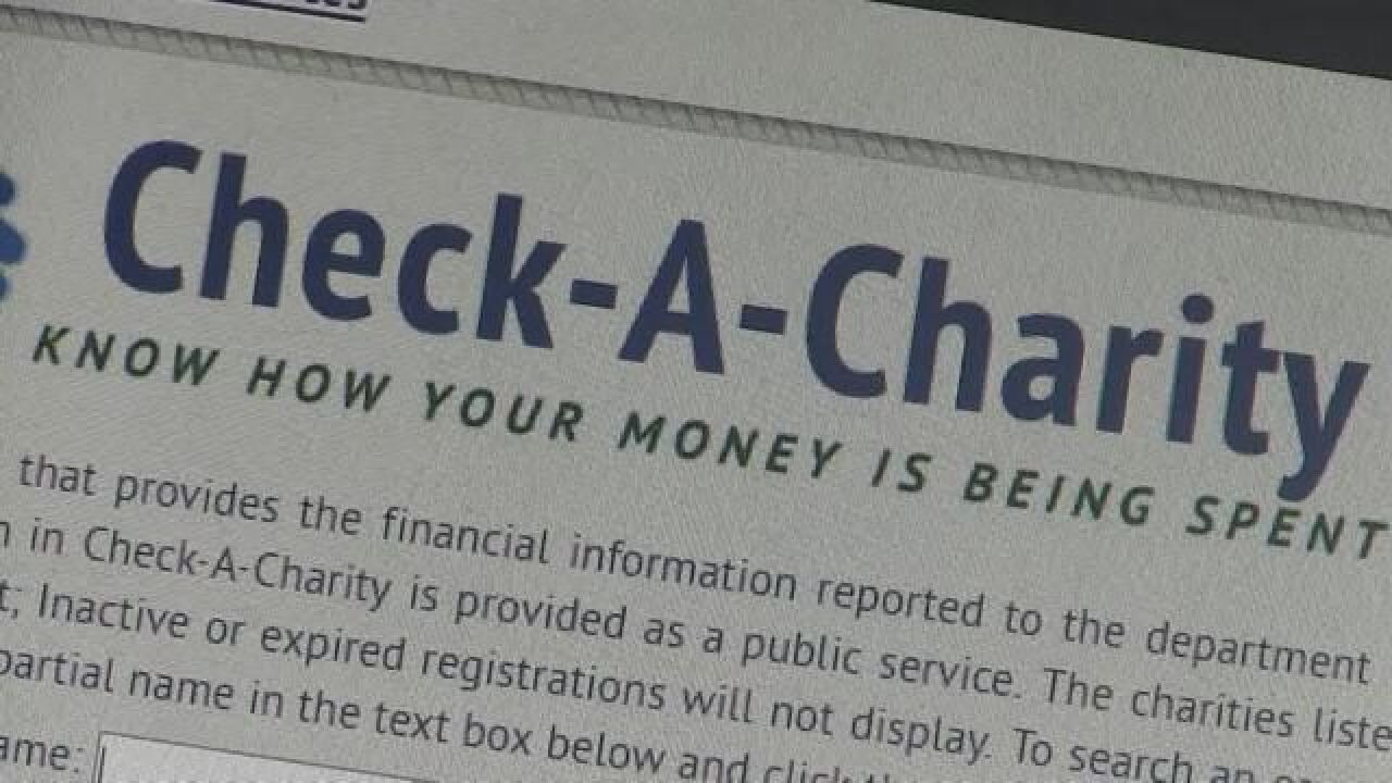 State Officials Warn Residents to Double Check Charities Before Donating