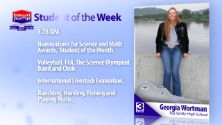 Student of the Week: Georgia Wortman