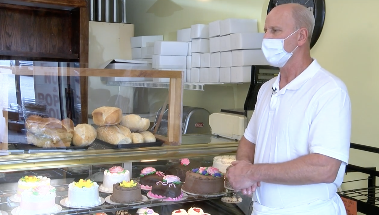 Owner of Breads and Beyond Bakery.