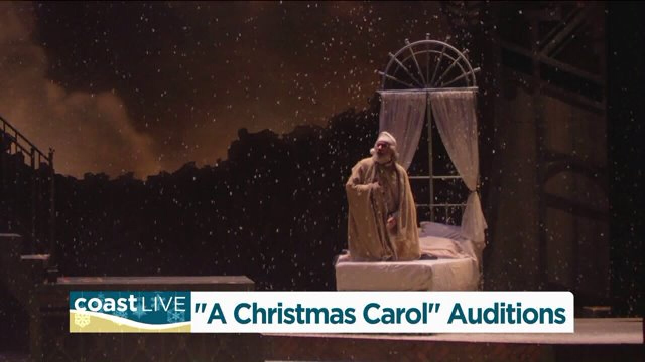 Push Comedy auditions for Scrooge on CoastLive