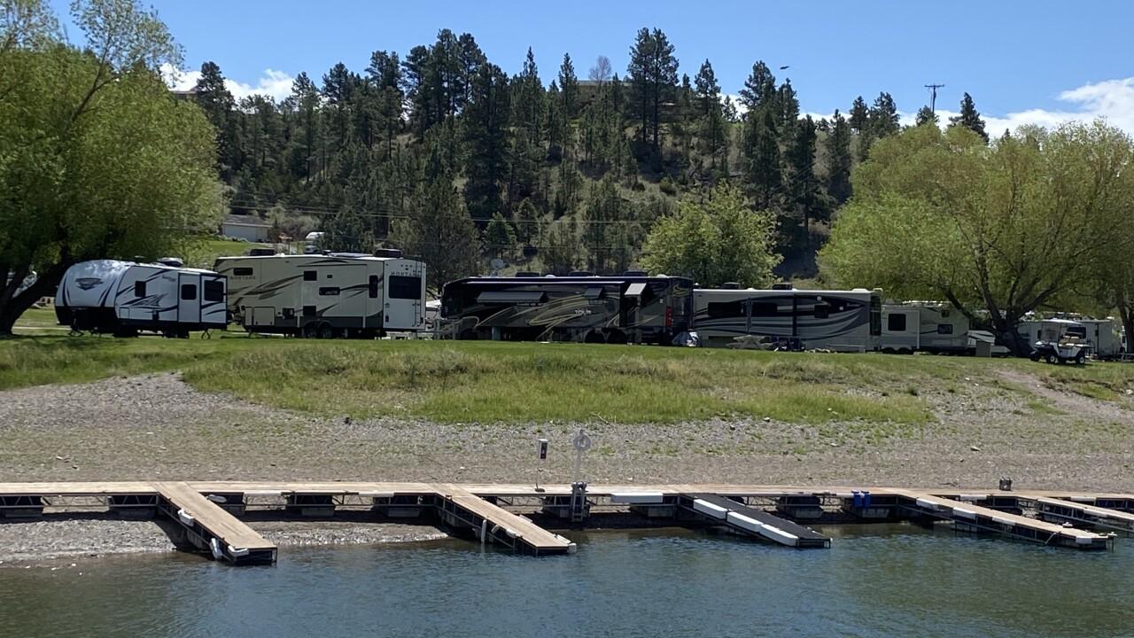 Kim's Marina Camping