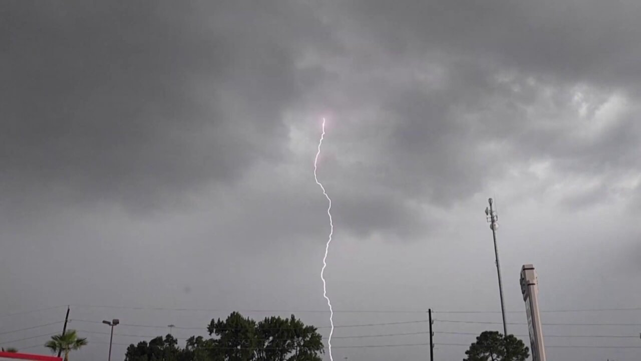 National Weather Service: Threat of lightning increases in July