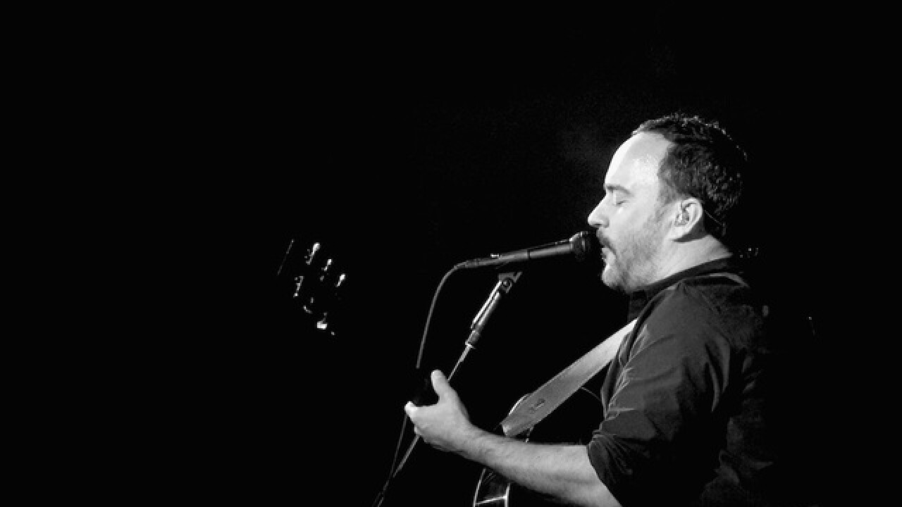 Dave Matthews Band to headline 'Concert for Charlottesville'