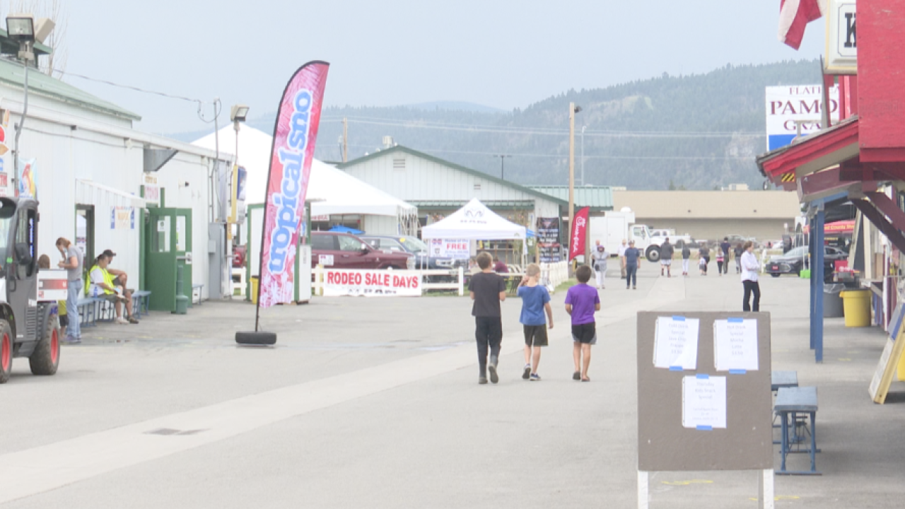 Non-profits and businesses struggle with a decrease in NW Montana fair attendance