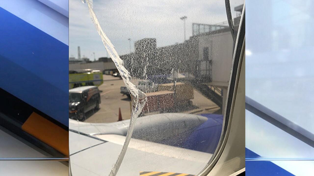 Southwest flight emergency landing in Cleveland