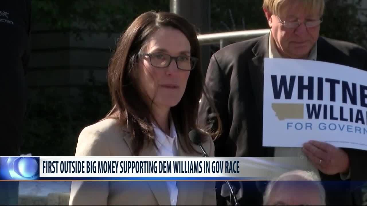 Outside group drops $687K on ad for Williams in gov race