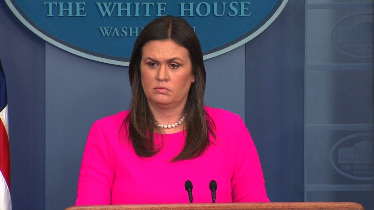 Press Secretary Sarah Sanders to leave White House at end of June, president says