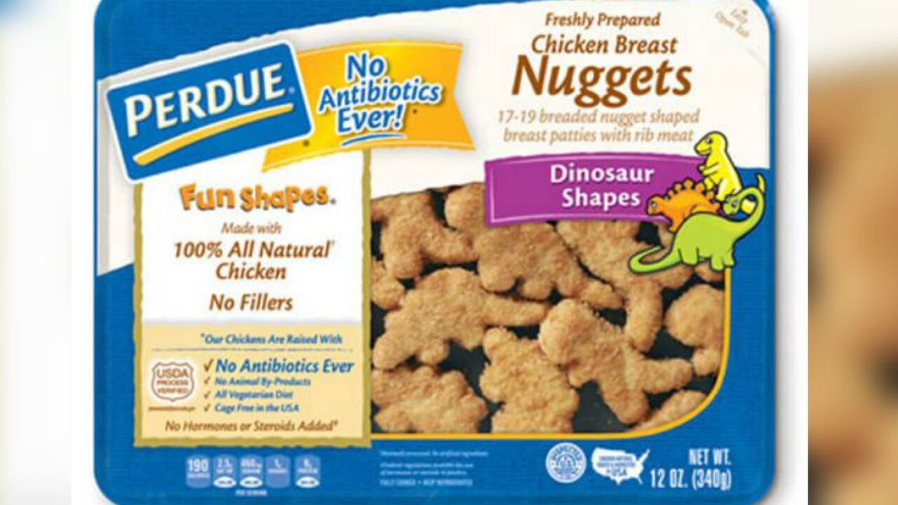 'Misbranded' chicken nuggets recalled in Virginia, 12 other states
