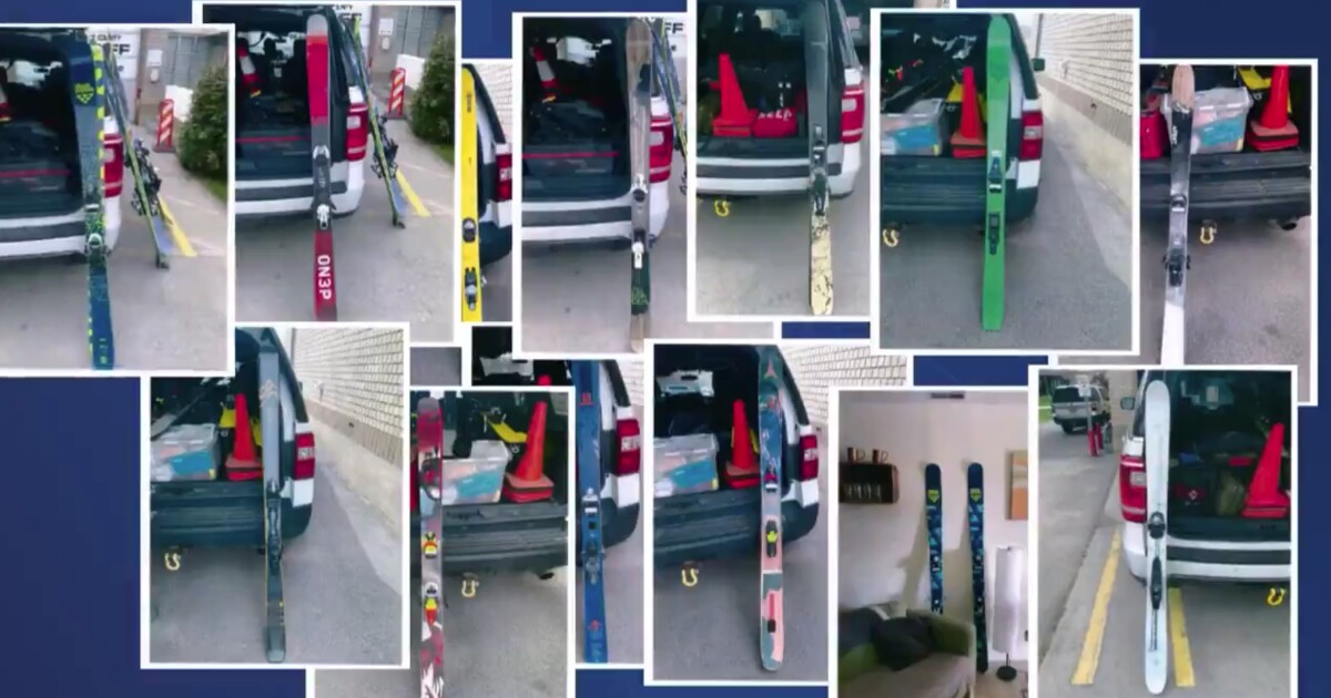 More than $11K worth in skis stolen from Snowbird, recovered & returned; suspect identified