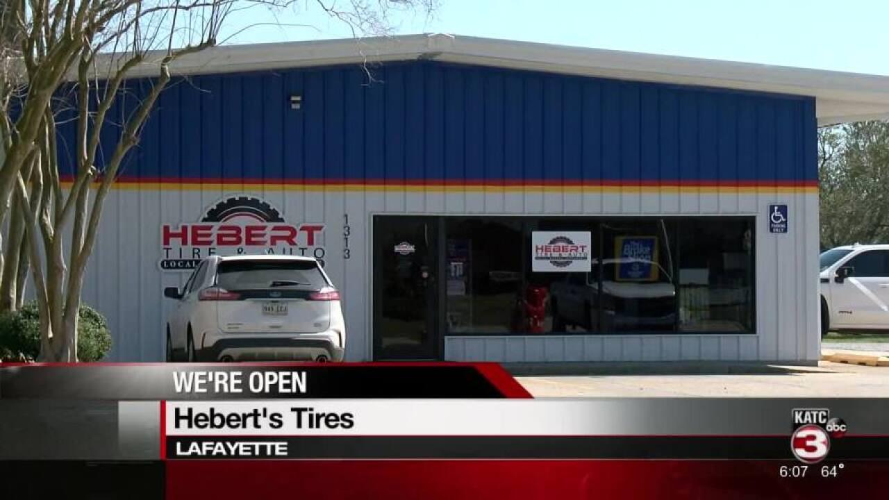 We're Open Hebert's Tire and Auto.jpg