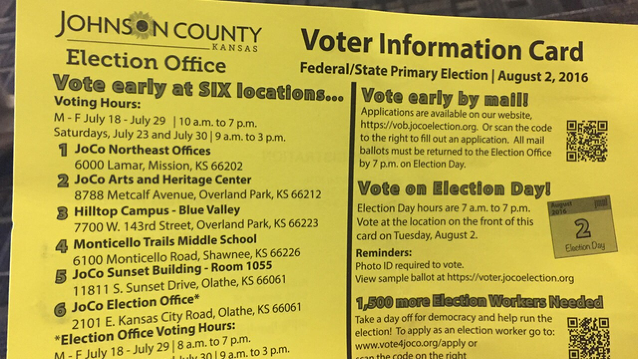 New tech, voter confusion in JoCo elections