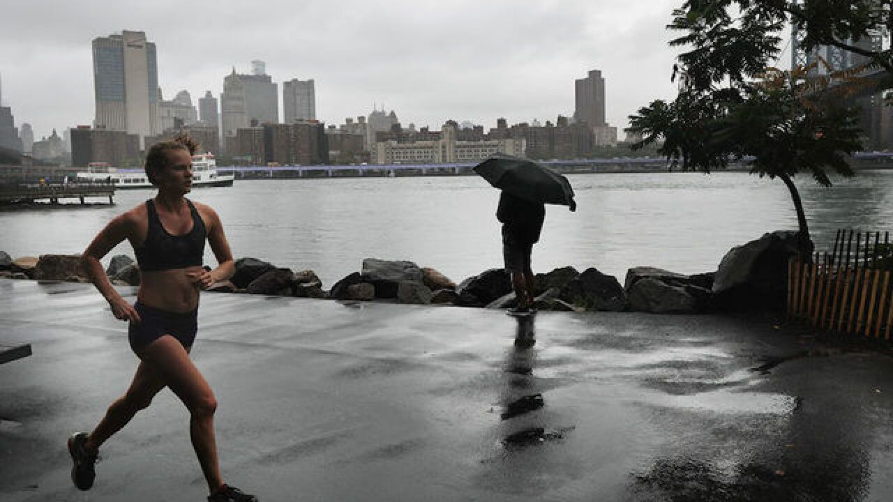Heavy rain continues to fall across Northeast as region braces for more flooding