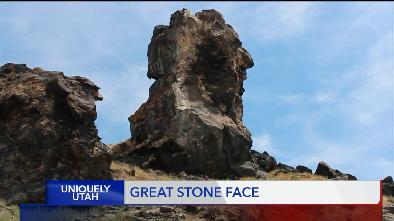 Uniquely Utah:  The Great Stone Face