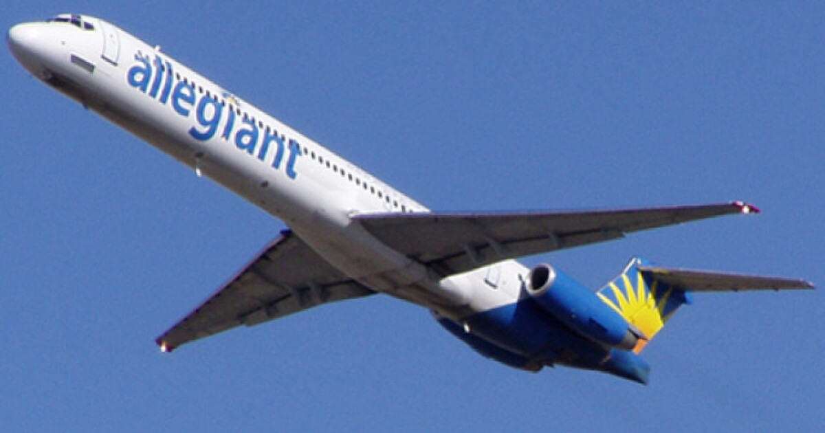 Allegiant Adds Nonstop Flights From Clearwater To
