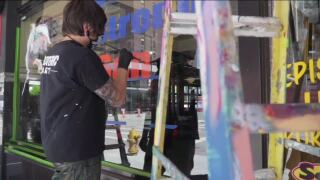 New program brings art to small businesses through Windows of Inspiration