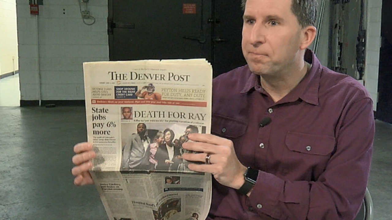 Colorado death penalty juror speaks out against efforts to abolish capital punishment