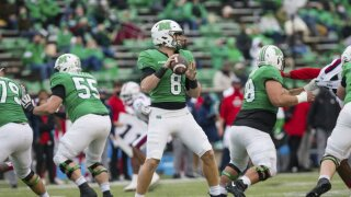 Marshall Thundering Herd QB Grant Wells vs. FAU Owls in 2020