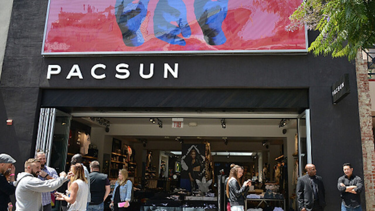 PacSun files for Chapter 11 bankruptcy