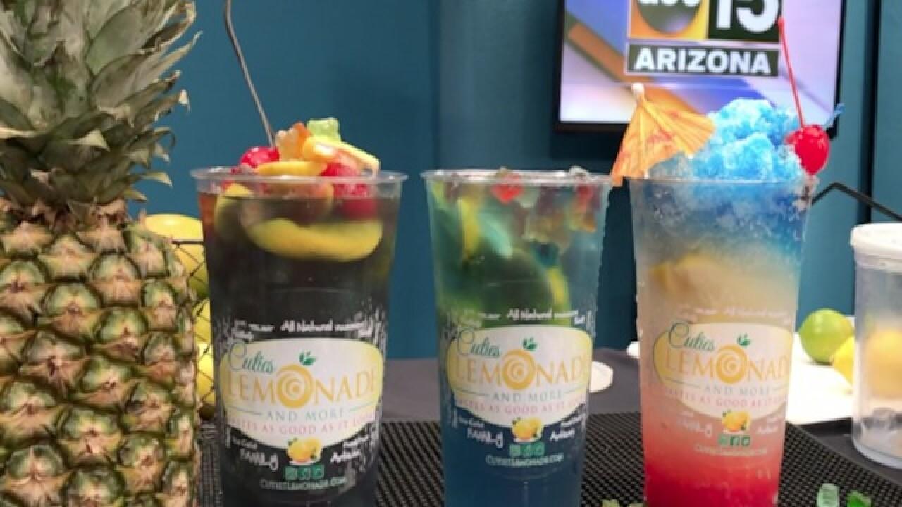 GUMMY BEAR SLUSHY! Cuties Lemonade's new drink
