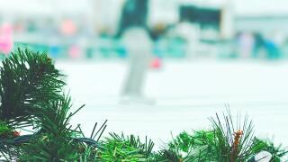 Holiday ice skating generic