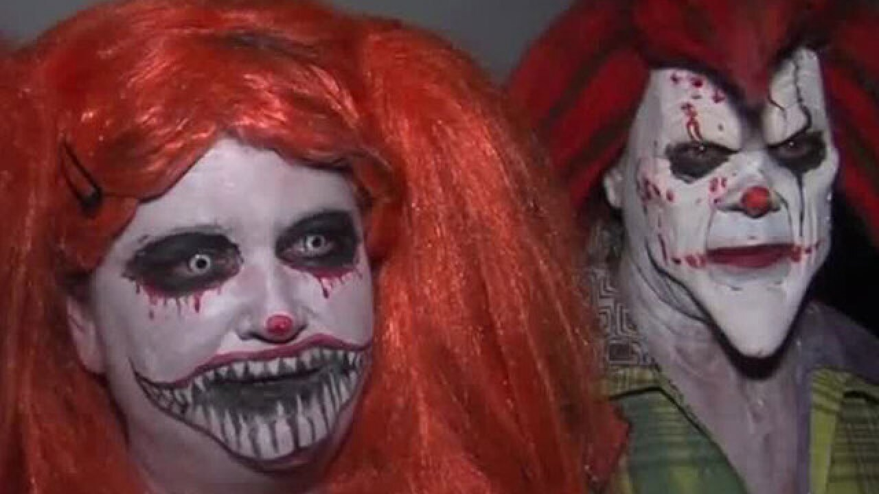 Haunted house in Jupiter raising money for clown fighting cancer