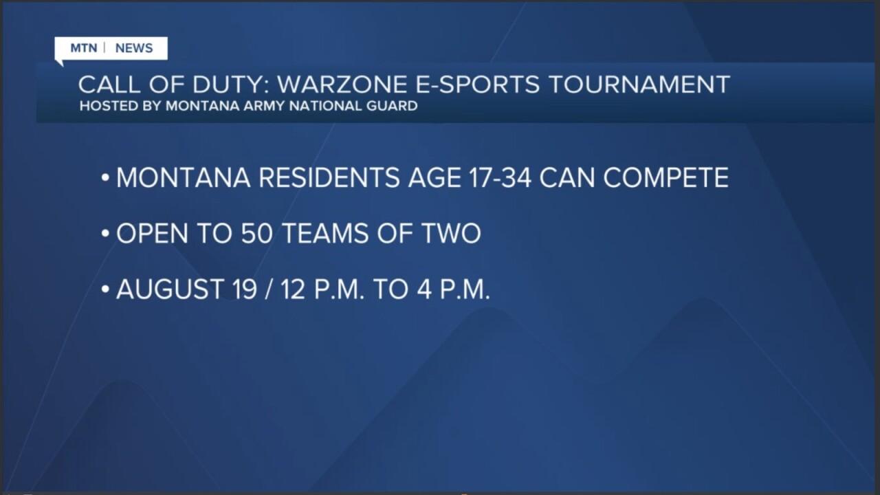 Montana Army National Guard hosts esports tournament