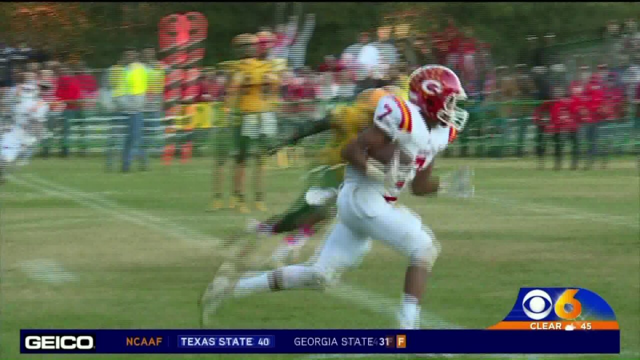 CBS 6 Football Whiparound Nov.3rd