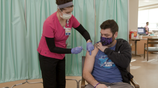 LifeBridge Health on Thursday began administering the new Johnson & Johnson COVID-19 vaccine.
