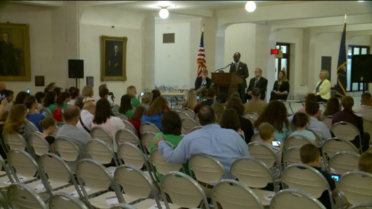 State School Board candidates rally at Utah StateCapitol