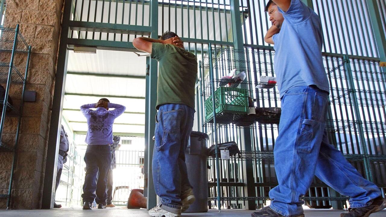 Border Patrol Freezing Cells