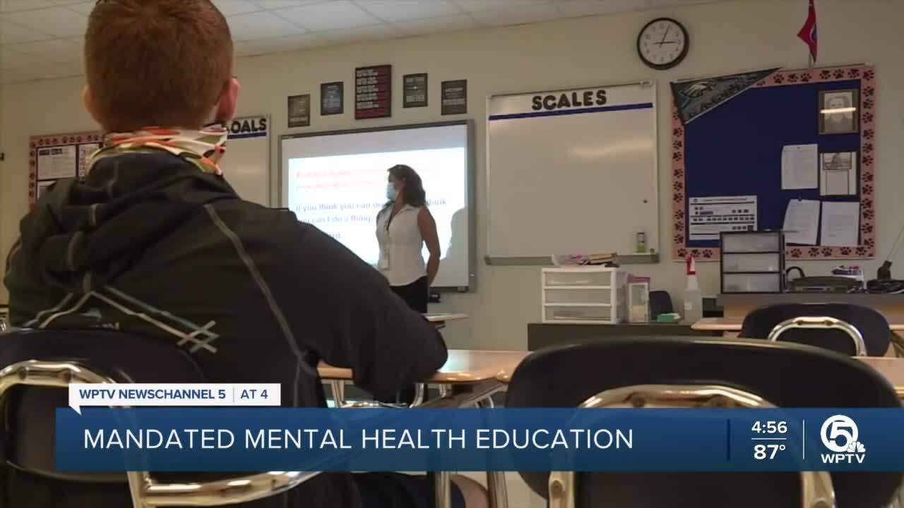 Mandated Mental Health Education