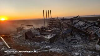 Monday's fire burned 16K acres