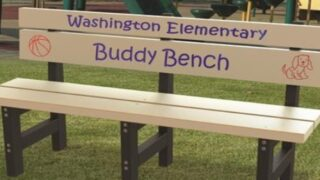 The Great Reason Kids Are Raising Money To Buy 'Buddy Benches' For Their Schools