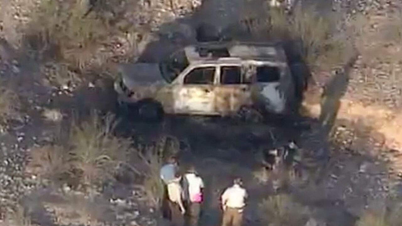 MCSO: 1 dead, 1 injured during fiery single-car crash in Buckeye