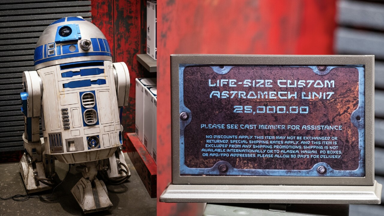 Star Wars fanatics are spending $25,000 for a custom droid at Disneyland