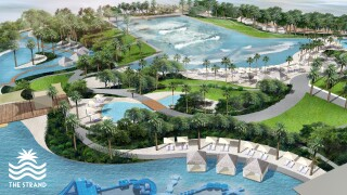 The Strand @ Gilbert water park rendering