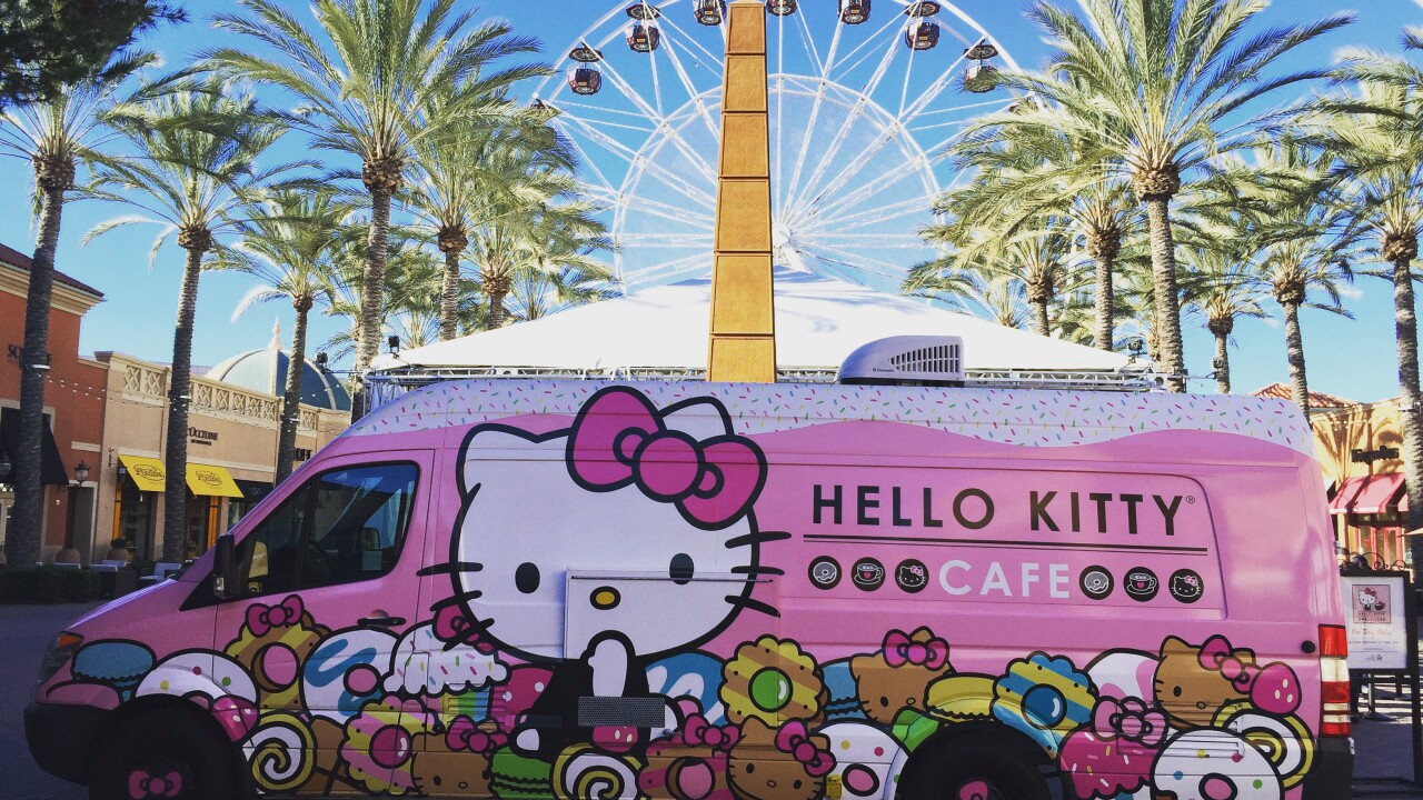 Hello Kitty Cafe Truck scheduled to visit Virginia Beach