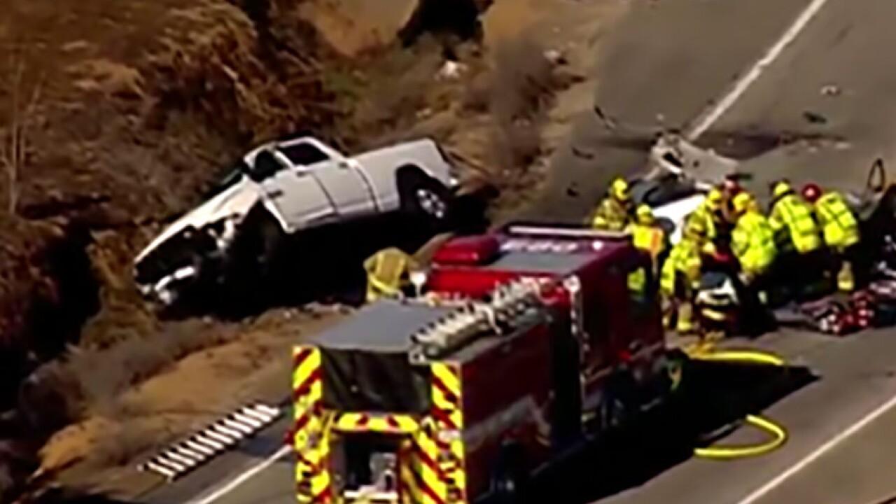 Two killed in Christmas Eve  crash on SR-78 in Ramona identified