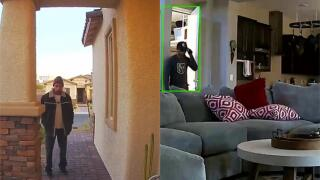 Las Vegas burglar makes himself at home during 4-hour heist, puts on homeowner's shirt